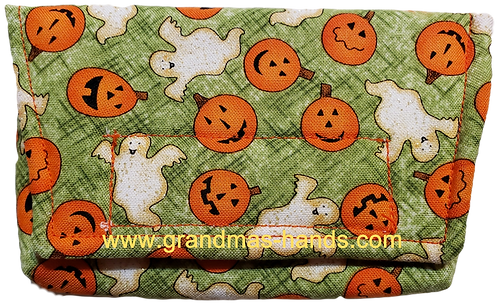 Pumpkins and Ghosts - Insulin Pump Pouch