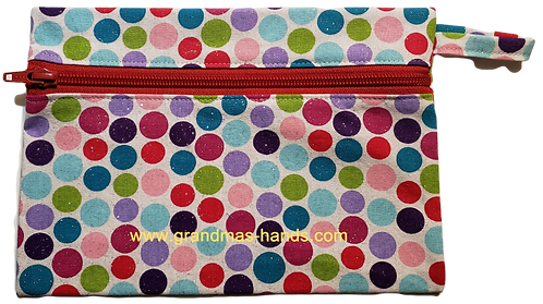Poka-Dot Diabetic Accessory Carrying Case