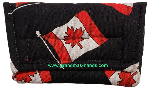 Canada Flag - Insulin Pump Pouch