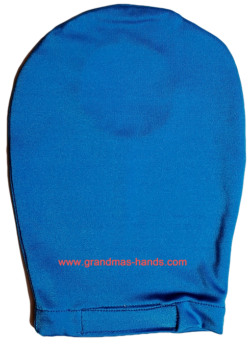 Blue - Adult Stretchy Ostomy Bag Cover