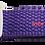 Thumbnail: Purple Belt with White Buckle - Insulin Pump Pouch Belt