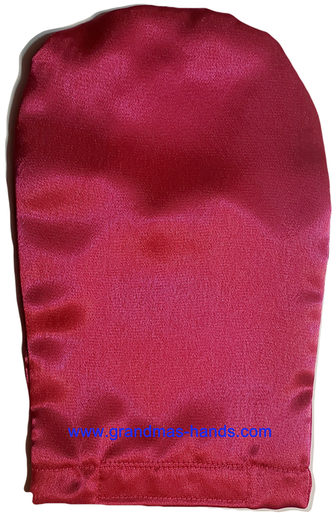 Bright Pink - Adult Satin Ostomy Bag Cover