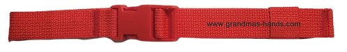 Red Belt with Red Buckle - Insulin Pump Pouch Belt