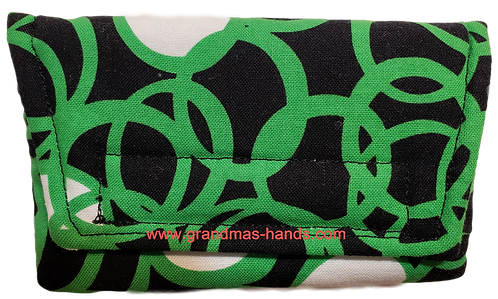 Green Rings - Insulin Pump Pouch