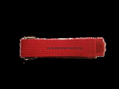 Red Belt with Velcro Fastener - Insulin Pump Pouch Belt