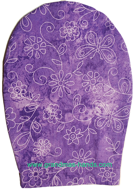 Lilac Butterflies - Childrens Ostomy Bag Cover