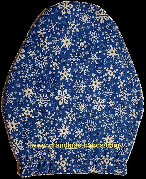 Snowflakes - Children's Urostomy Bag Cover
