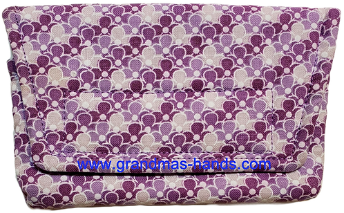 Purple Balloons  - Insulin Pump Pouch