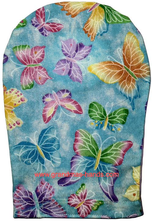Swallowtail on Blue - Adult Ostomy Bag Cover