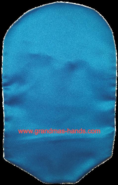 Blue - Adult Satin Urostomy Bag Cover