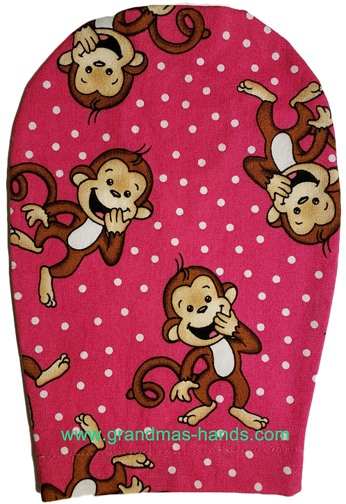Happy Monkies - Childrens Ostomy Bag Cover