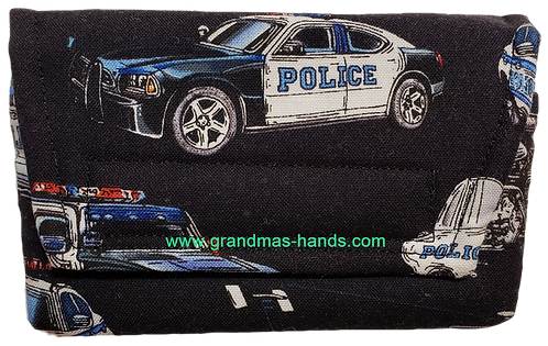 Police Car - Insulin Pump Pouch