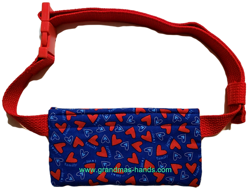 Hearts  - EpiPen® Pouch