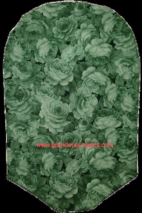 Green Flower Pattern - Adult Urostomy Bag Cover