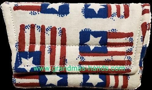USA Flag - Insulin Pump Pouch