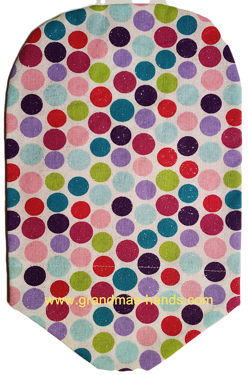 Multi-Coloured Dots - Adult Urostomy Bag Cover