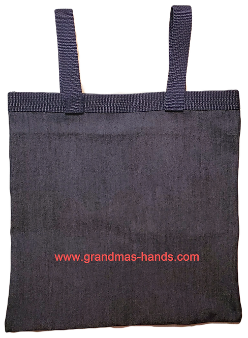 Dark Denim - Catheter Bag Cover