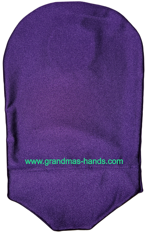 Purple - Adult Stretchy Urostomy Bag Cover