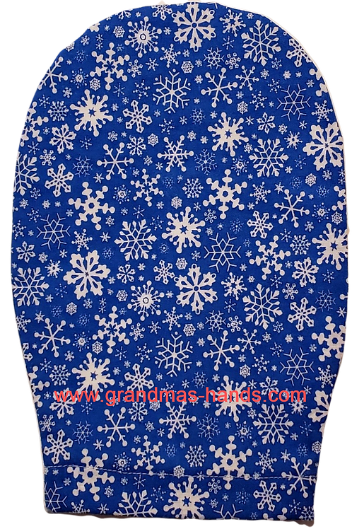 Snowflake - Adult Ostomy Bag Cover