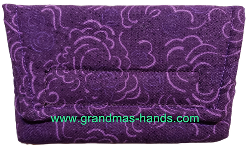 Purple Clouds - Insulin Pump Pouch