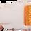 Thumbnail: Light Orange Belt with White Buckle - Insulin Pump Pouch Belt