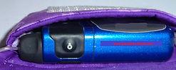 Insulin Pump in a Grandma's Hands Insulin Pump Pouch