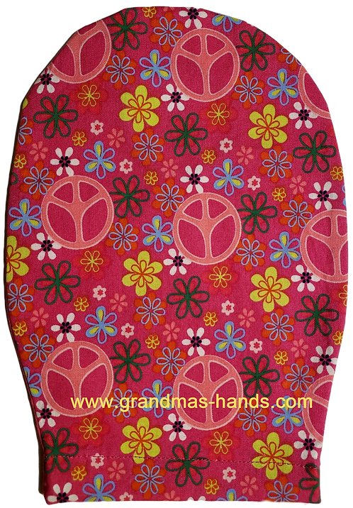 Pink Peace - Childrens Ostomy Bag Cover