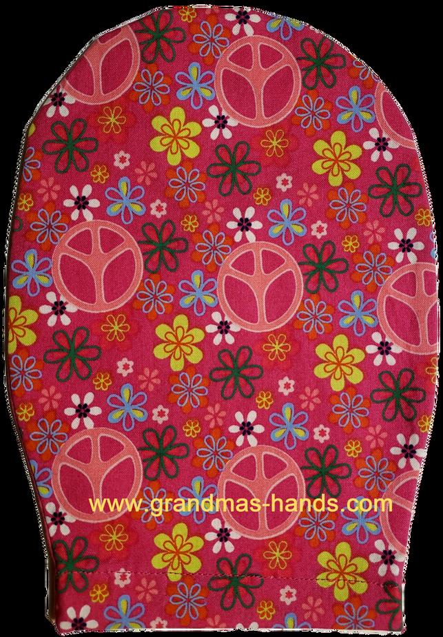Pink Peace Childrens Ostomy Bag Cov