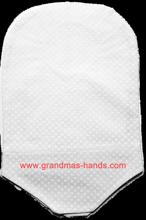 White Linen - Adult Urostomy Bag Cover