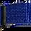 Thumbnail: Royal Blue Belt with Black Buckle - Insulin Pump Pouch Belt