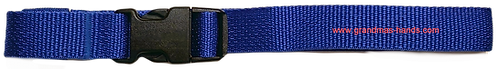 Royal Blue Belt with Black Buckle - Insulin Pump Pouch Belt