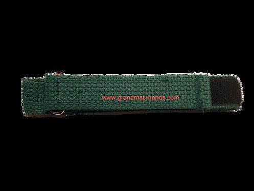 Green Belt with Velcro Fastener - Insulin Pump Pouch Belt