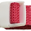 Thumbnail: Bright Pink Belt with White Buckle - Insulin Pump Pouch Belt