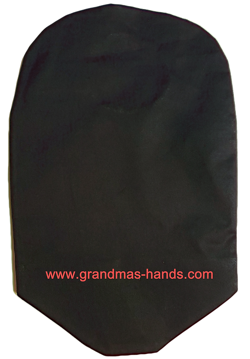 Black- Adult Urostomy Bag Cover