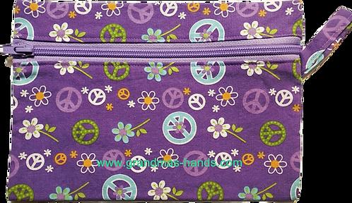 Purple Peace Diabetic Accessory Carrying Case