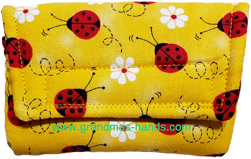 Ladybugs in Clover - Insulin Pump Pouch