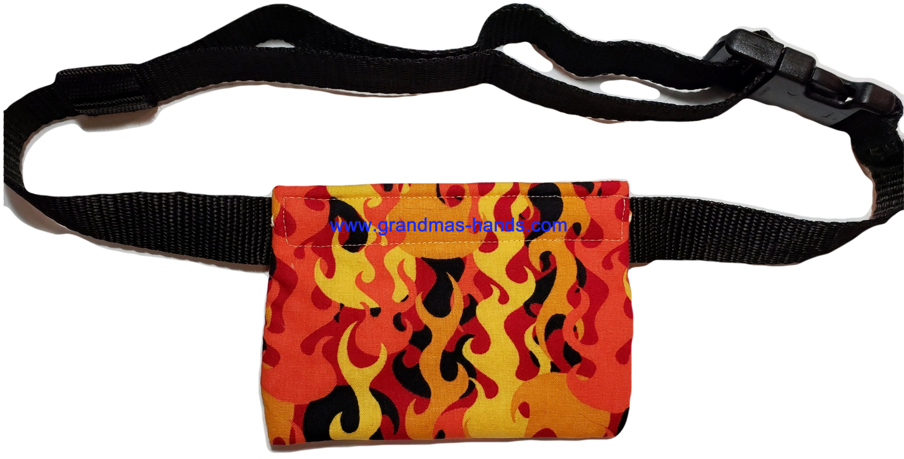 Orange Flame Allerject-Auvi-Q Pouch