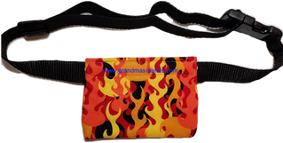 Orange Flame Allerject-Auvi-Q Pouch