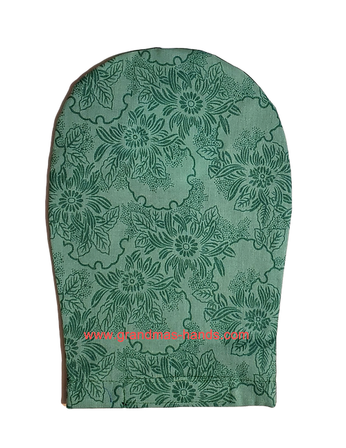 Green Floral - Adult Ostomy Bag Cover