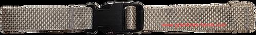 Grey Belt with Black Buckle - Insulin Pump Pouch Belt