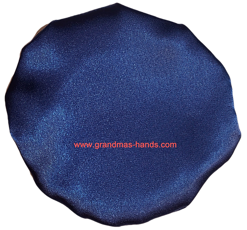 Special Times Royal Blue - Adult Satin Ostomy Bag Cover