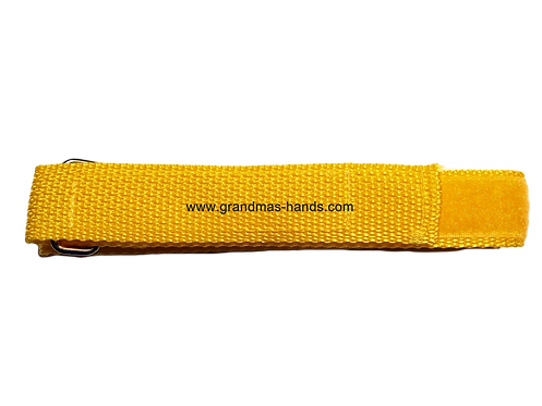 Yellow Belt with Velcro Fastener - Insulin Pump Pouch Belt
