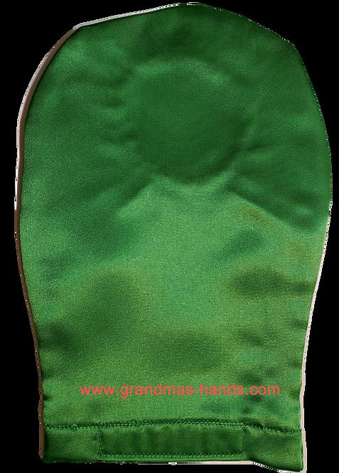 Green - Adult Satin Ostomy Bag Cover