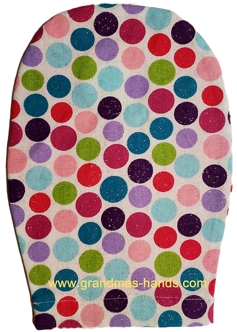 Multi-Coloured Spots - Childrens Ostomy Bag Cover