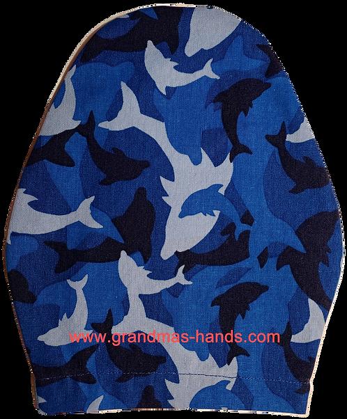 Dolphins - Children's Urostomy Bag Cover