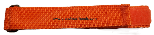 Dark Orange Belt with Velcro Fastener - Insulin Pump Pouch Belt