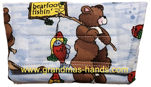 Bear Fishing - Insulin Pump Pouch