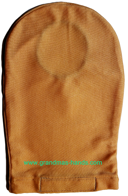 Peach - Adult Stretchy Ostomy Bag Cover