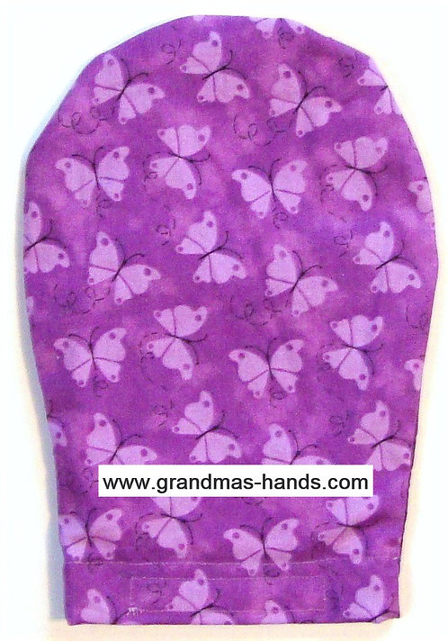 Purple Butterfly - Adult Ostomy Bag Cover