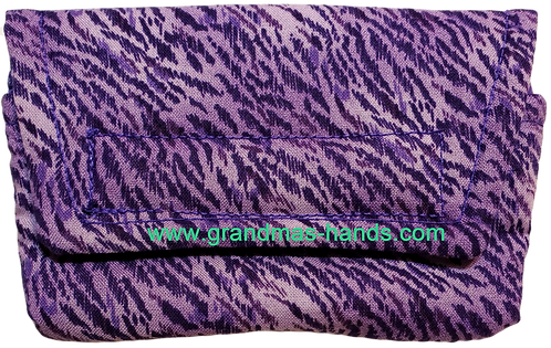 Purple Ripple - Insulin Pump Pouch